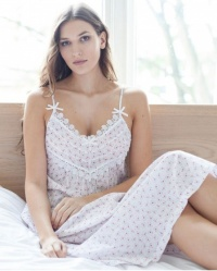 Adora  Cotton Lawn Floral Strappy  Nightdress