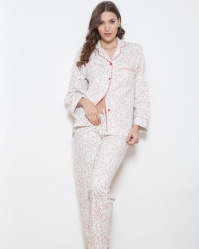 Cotton Fleece Classic Floral PJ Set