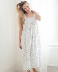 Gemma Cotton Twill Wide Strap Nightdress