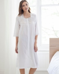 Jo - Cotton Lawn Housecoat-Nightdress