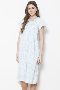 Walker Cotton Lawn Cap Sleeve Nightdress