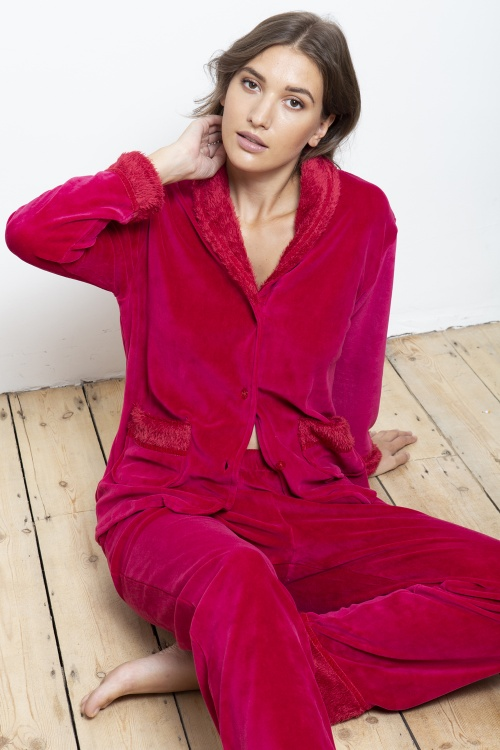 Nicky Velour Lounge Pyjamas