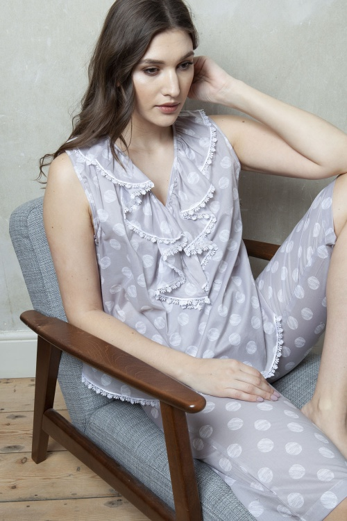 Toulon Cotton Voile Capri PJ Set