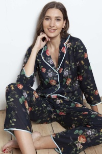 Deluxe Cotton Voile Hummingbird PJ Set