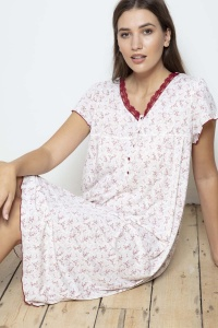 Butterfly Flora Nightie - PLUS