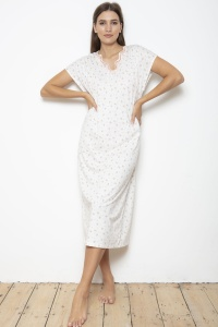 100% Cotton Flora Nightie - PLUS