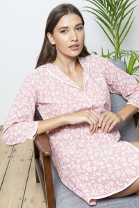 Deluxe Cotton Chambray Nightshirt