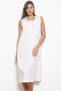 Helia Cotton Lawn  Nightdress