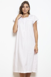 Hera Cotton Lawn  Nightdress