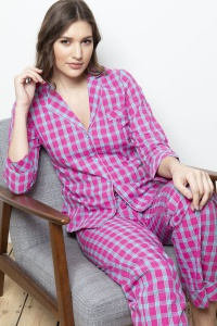 Hove  YarnDye Check  Cotton Pyjamas