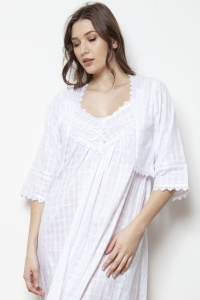Indira Cotton Voile Bed Jacket