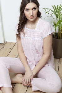 Jette Cotton Voile PJ Set