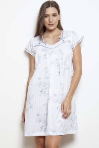 Kandy Antique Flora Cap Sleeve Nightdress
