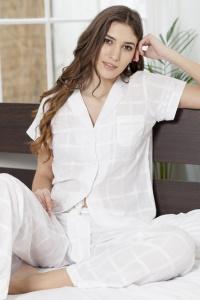 8b6eb9eb60 Peony Cotton Lawn Cap Sleeve Nightdress - Cottonreal