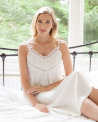 Solana - Pure Silk Strappy Nightdress