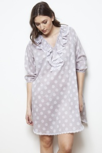 Tropez Cotton Voile Lounger Nightshirt