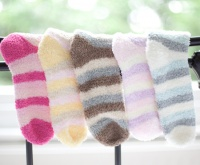 Fun & Bright Bed Sock Sets - Ankle length -3 Pairs